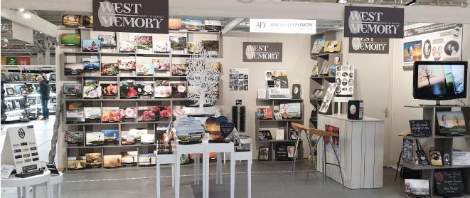 Stand Westmemory Salon funéraire paris 2019
