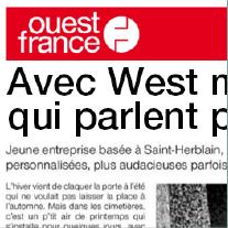 Article ouest France novembre 2018