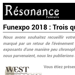 Article presse Resonance janvier 2019