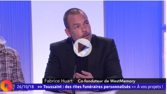 TeleNantes Westmemory interview de Fabrice Huart