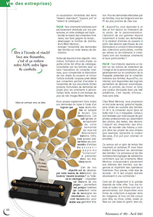 Article résonance Westmemory avril 2021 page 3